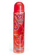 Sex Sweet Lube Flavored Water Based Lubricant Strawberry...
