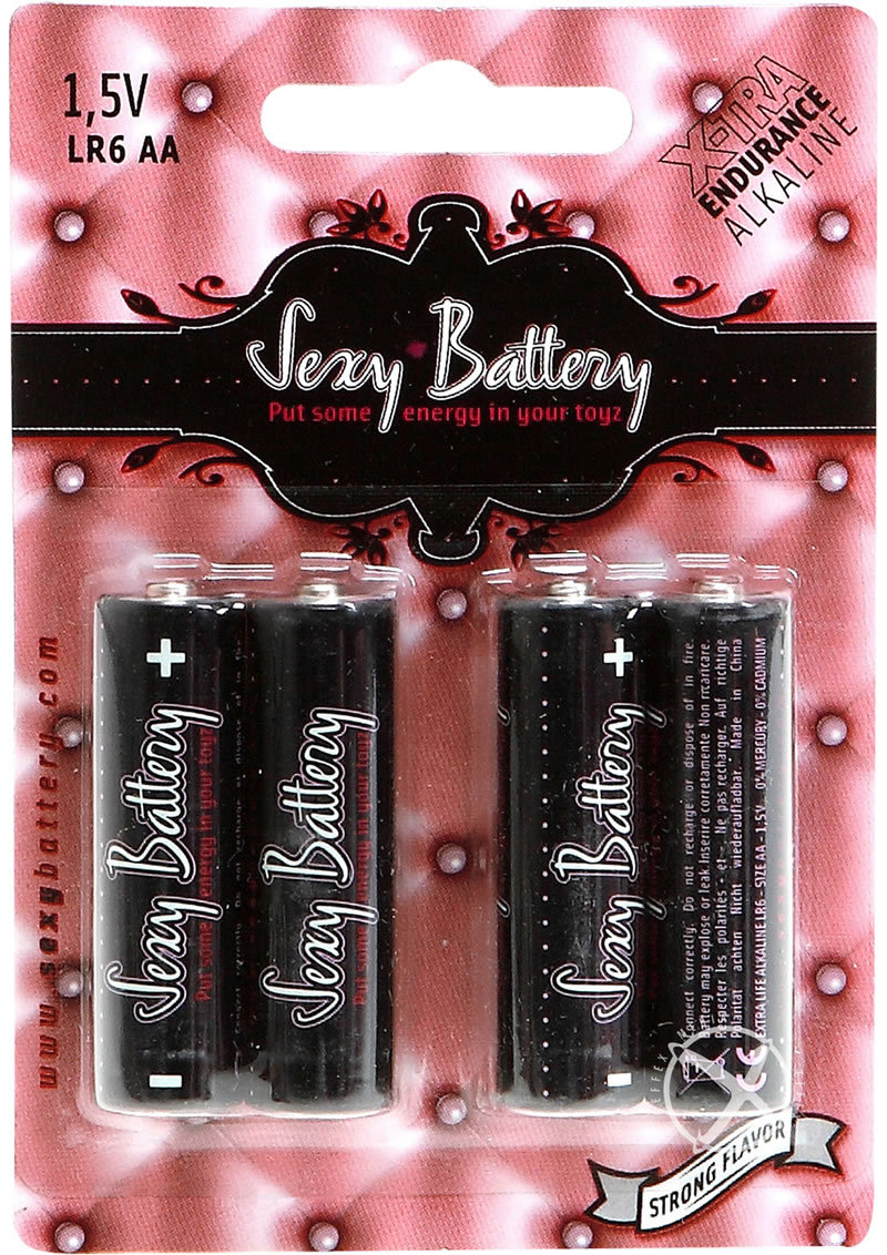 Sexy Battery Xtra Endurance Alkaline Battery Lr6 Aa/ 1.5v (4 Pack)